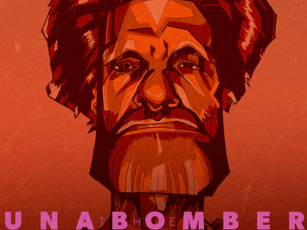 The Unabomber Ivannov 2018 design illustration