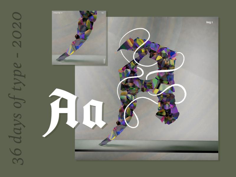 36 Days of Type 2020 – a b c d e f typography oil paint motion design 36daysoftype07 animation texture iridescent illustration design cinema 4d c4d 3d 36daysoftype
