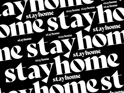 stay home stayhome stay safe wfh home stay home motion design animation texture illustration iridescent design cinema 4d c4d 3d