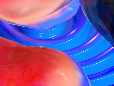 finding a place texture iridescent illustration design cinema 4d c4d 3d