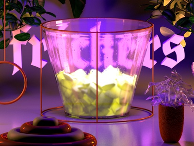 frickers animation texture iridescent illustration design cinema 4d c4d 3d