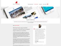WordPress Agency New Website