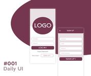 Daily_UI 1 of 100 #dailyui #001
