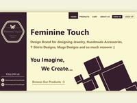 Feminine Touch Brand Website