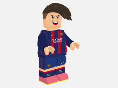 Neymar Jr - FC Barcelona nike lego barcelona illustration neymar