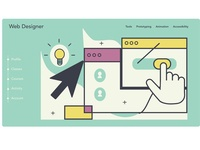 Learn how to be a web designer from scratch