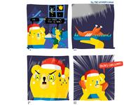 GOGOVAN Christmas Comic