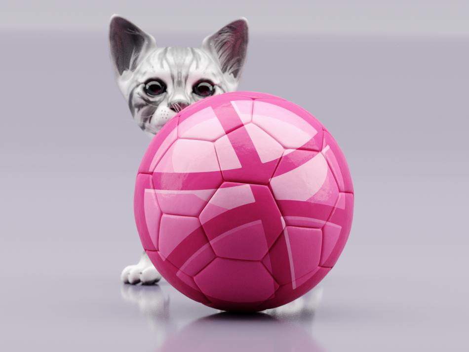 Play Meow studio blender3d cat render character rigging graphicdesign art cg