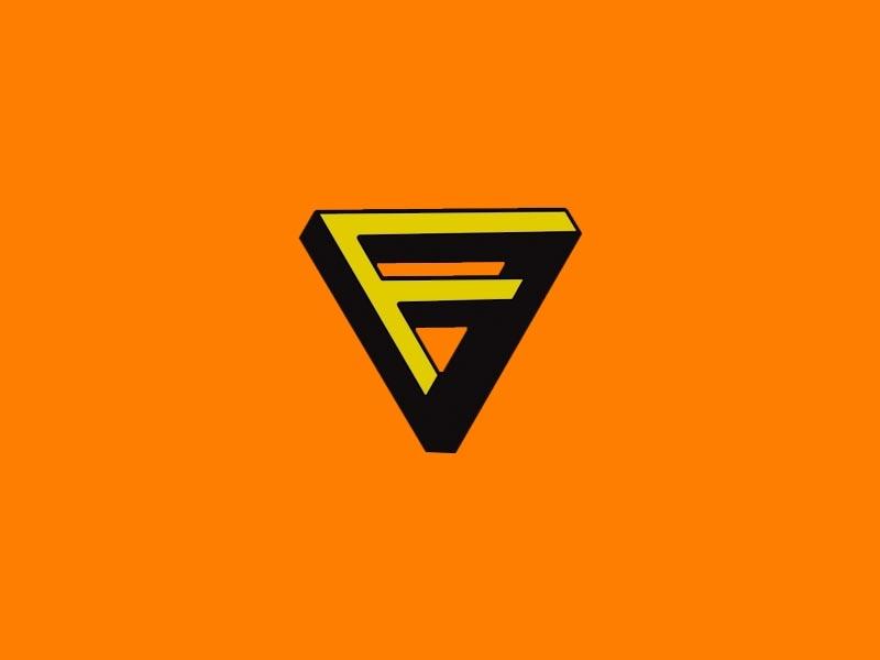 Flavorus Solutions 3d logo line art icon vector typography graphicdesign art design branding
