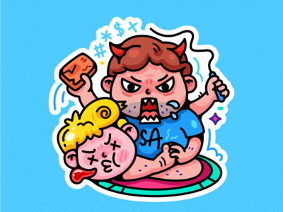Baitu Sticker
