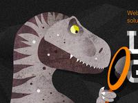 Vain dinosaur