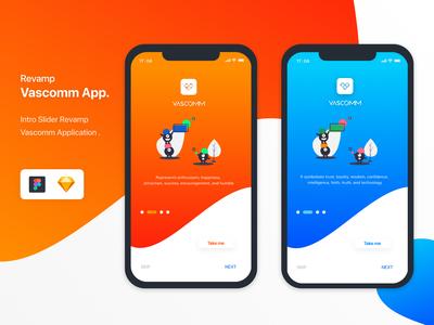 Revamp Vascomm App.