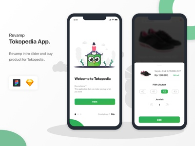 Test case Tokopedia UI mobile ui ux ui design app