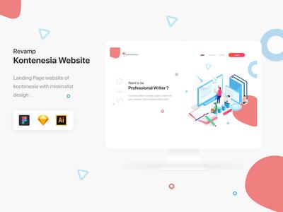 Landing Page Kontenesia Website