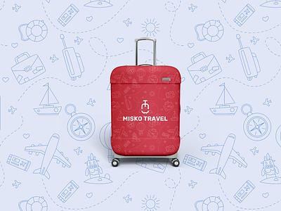 Misko Travel animation clean icon branding illustration vector booking food hotel travel app travel typography logo