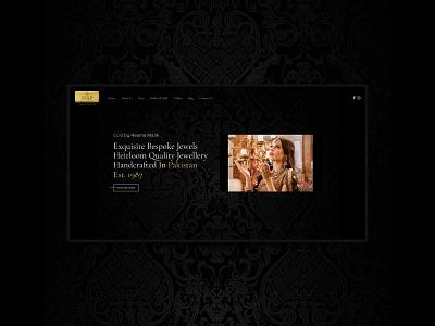 GBRM - Website jewelry black lifestyle fashion ui uidesign typogaphy graphic design creative website logo typography branding ux user interface icon user experience web web design