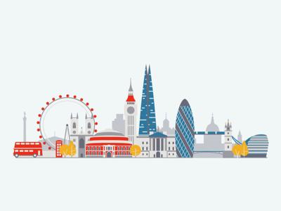 London cityscape bus big ben europe great britain united kingdom uk landmarks city london