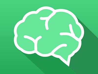 flat brain icon - photo #28