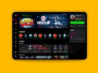 Gorilla - sports betting bets product product design ui ux uxui betting esports sport bookmakers bookmaker esport interface black dark mode dark app dark ui