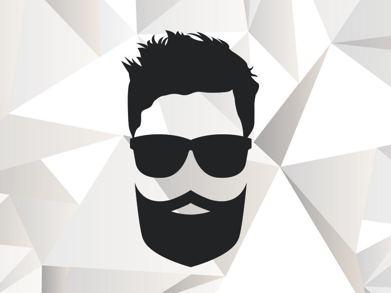 My new logo) brand beard me logo