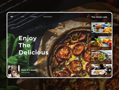 Food & Delights banner design