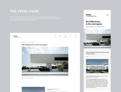 Bauhaus 100 web bauhaus typography banner design