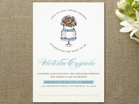 Sweet n' Chic Bridal Shower Invitations