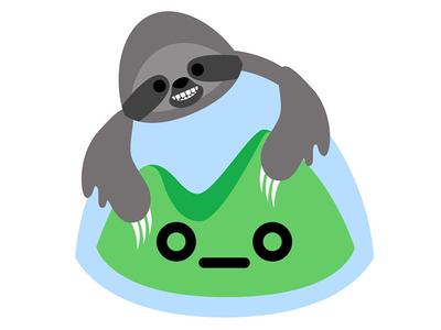 Out-Slothed sloth basecamp happy camper