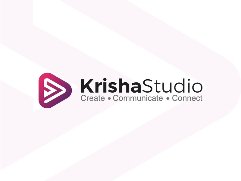 KrishaStudio Logo Design typography design logo mark design master brand family brand book grid branding logo branding logo symbol brand identity logo