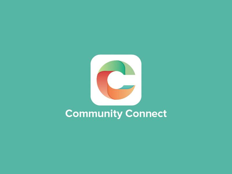 Icon for Community Connect appicon app icon branding logo design vector logo symbol brand identity logo