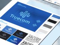 Truecom Telesoft Visual identity