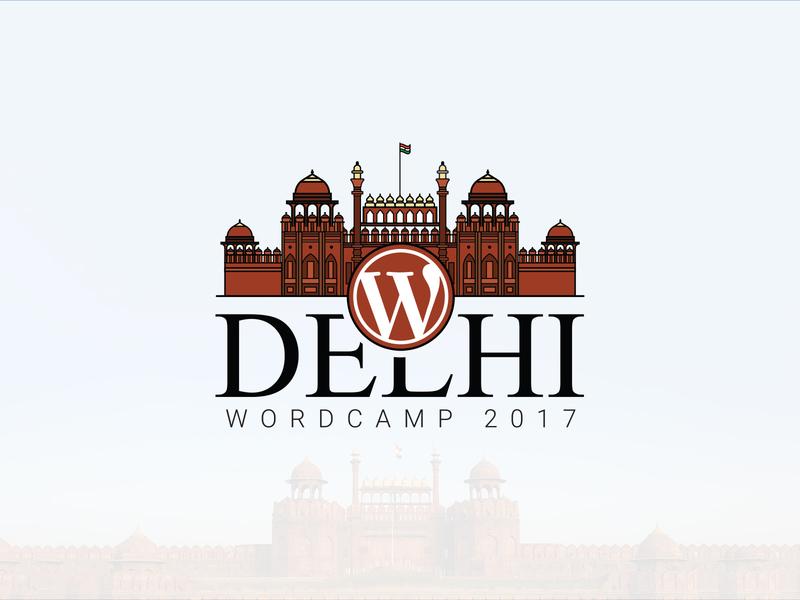 WordCamp Delhi Logo brand identity branding logo wordcamp ahmedabad wordcamp delhi wordpress wordcamp wpahmedabad wpdelhi wcahmedabad wcdelhi