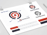 Brand mark for a UK based Web Agency.