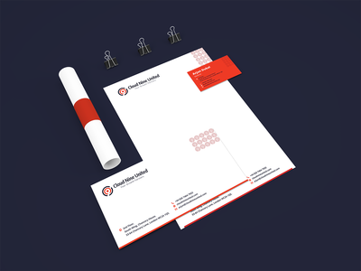 Brand Stationery Design for UK based Web Agency.