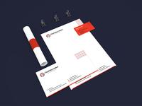 Brand Stationery Design for UK based Web Agency.