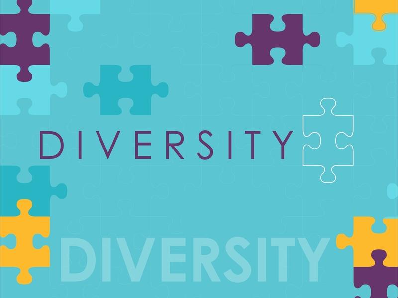 Diversity Concept design theme creative branding