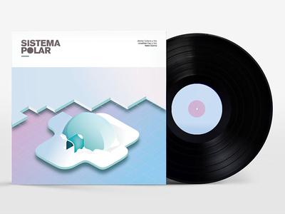SISTEMA POLAR vector ilustración music