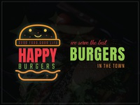 Food Logo with Banner