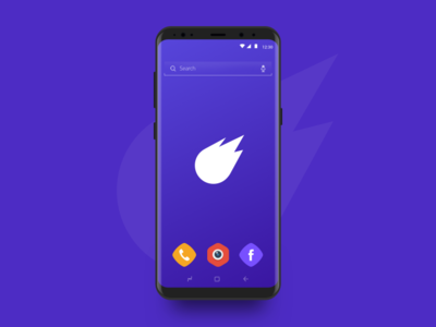 Fly Launcher - Icons icons launcher android app launcher icon logo ui minimal identity branding