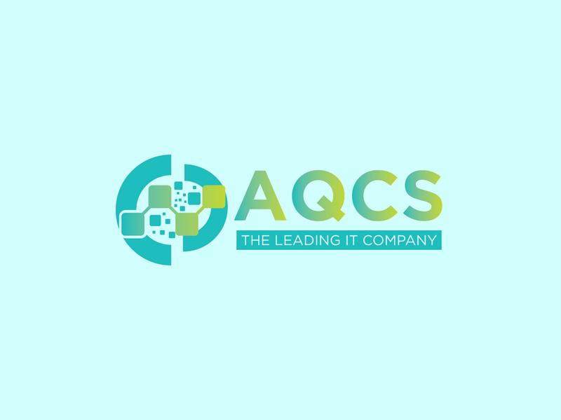 AQCS lettering type art illustrator typography vector branding design logo illustration