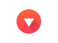 FV Logo — Long shadow