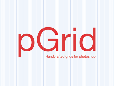 Pgrid - Handcrafted grids for Photoshop photoshop grid script