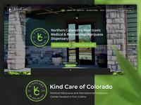 Medical Marijuana Dispensary Website Design
