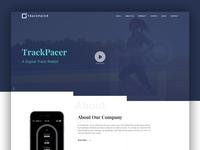 TrackPacer – A Digital Track Rabbit Website Design