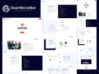 Cloud Nine United Homepage Concept