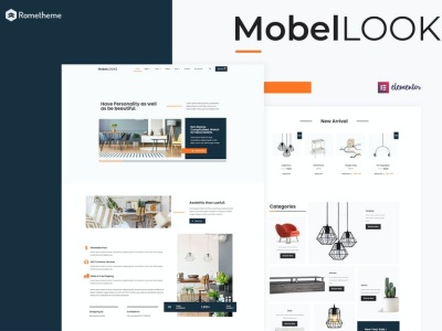 Mobel Looks - Furniture Store WooCommerce Elementor Template Kit woocommerce template kit shopping shop product nature interior green furniture elementor ecommerce clean bussiness