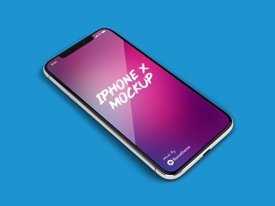 FREE IPHONE X MOCKUP | FOR PHOTOSHOP PSD
