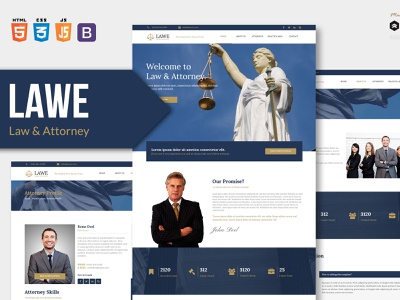 LAWE - Lawyer and Attorney HTML Template ui web html political legal lawyers lawyer law justice government corporate consulting consultant consult business bootstrap attorney advocate