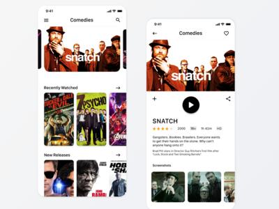 Daily UI Challenge Tv App #25