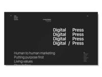 Daily UI Challenge #51 Press Page